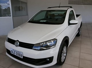 VOLKSWAGEN SAVEIRO 2016 1.6 TRENDLINE CS TOTAL FLEX 8V  MANUAL - Carango 65124