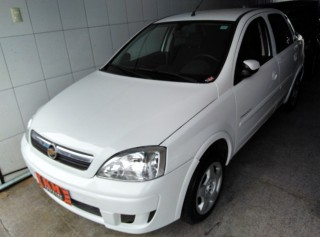 CHEVROLET CORSA 2008 1.4 MPFI PREMIUM SEDAN 8V ECONO.FLEX 4P MANUAL - Carango 67534