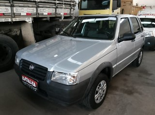 FIAT UNO 2012 1.0 WAY 8V FLEX 4P MANUAL - Carango 66716