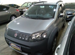 FIAT UNO 2012 1.0 WAY 8V FLEX 4P MANUAL - Carango 68216