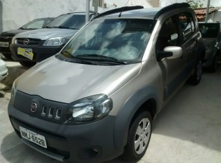 FIAT UNO 2012 1.0 WAY 8V FLEX 4P MANUAL - Carango 68502