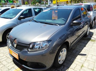 RENAULT LOGAN 2018 1.0 AUTHENTIQUE 16V HI-FLEX 4P MANUAL - Carango 68119