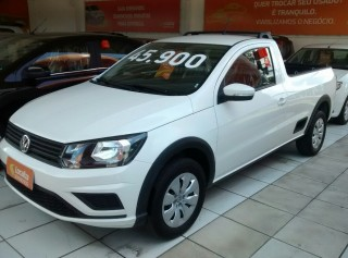 VOLKSWAGEN SAVEIRO 2018 1.6 TRENDLINE CS TOTAL FLEX 8V  MANUAL - Carango 68748