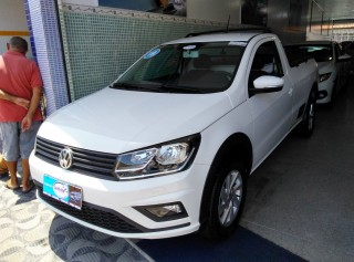 VOLKSWAGEN SAVEIRO 2019 1.6 TRENDLINE CS TOTAL FLEX 8V  MANUAL - Carango 69890