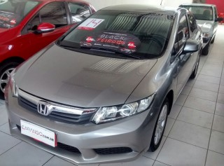 HONDA CIVIC 2014 1.8 LXS SEDAN 16V FLEX 4P MANUAL - Carango 70804