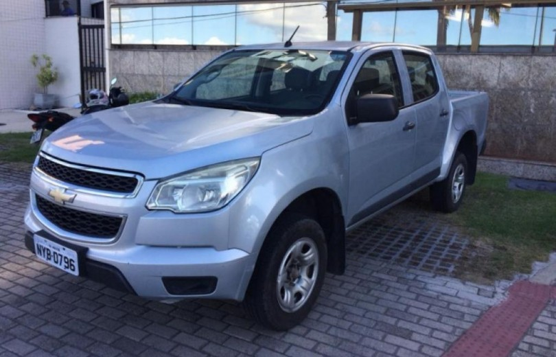 CHEVROLET S10 2013 2.4 MPFI LS 4X2 CD 8V FLEX 4P MANUAL - Carango 64497 - Foto 10