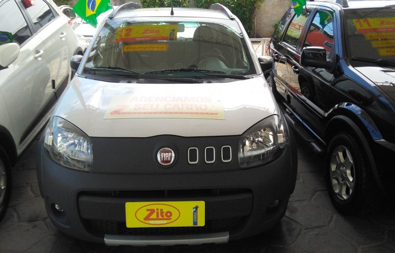 FIAT UNO 2012 1.0 WAY 8V FLEX 4P MANUAL - Carango 67186 - Foto 2