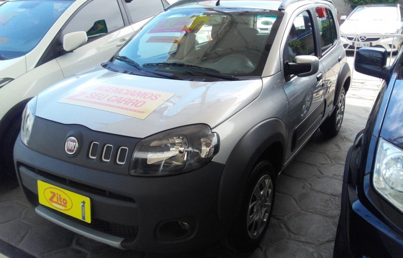 FIAT UNO 2012 1.0 WAY 8V FLEX 4P MANUAL - Carango 67186 - Foto 1