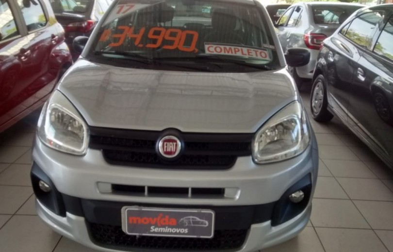 FIAT UNO 2017 1.0 EVO ATTRACTIVE 8V FLEX 4P MANUAL - Carango 66552 - Foto 2