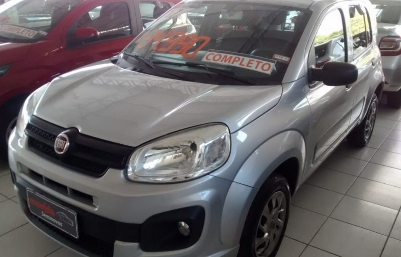 FIAT UNO 2017 1.0 EVO ATTRACTIVE 8V FLEX 4P MANUAL - Carango 66552 - Foto 1