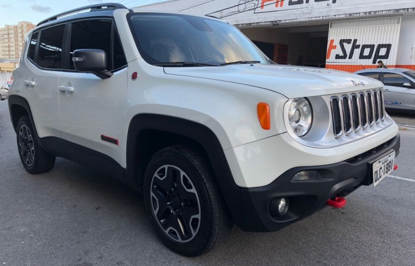 JEEP RENEGADE 2016 2.0 16V TURBO DIESEL TRAIL RATED 4P 4x4 AUTOMÁTICO - Carango 66561 - Foto 4