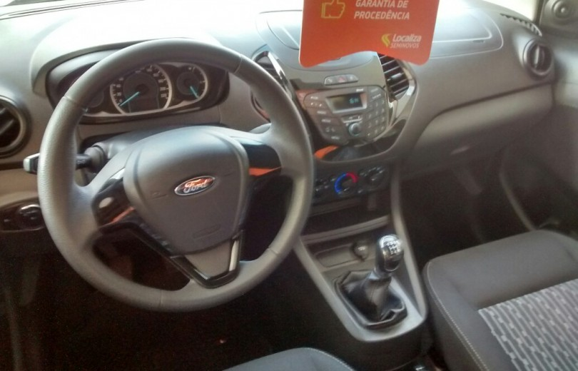 FORD KA MAIS 2018 1.5 SE 16V FLEX 4P MANUAL - Carango 70278 - Foto 6