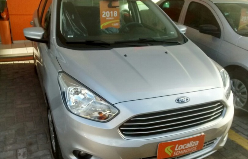 FORD KA MAIS 2018 1.5 SE 16V FLEX 4P MANUAL - Carango 70278 - Foto 2