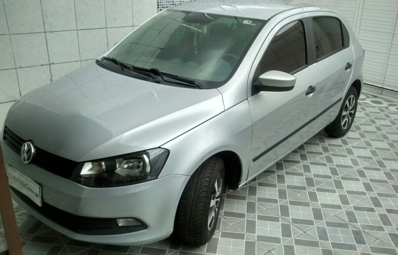 VOLKSWAGEN GOL 2015 1.0 MI CITY 8V TOTAL FLEX 4P MANUAL G.VI - Carango 70234 - Foto 1
