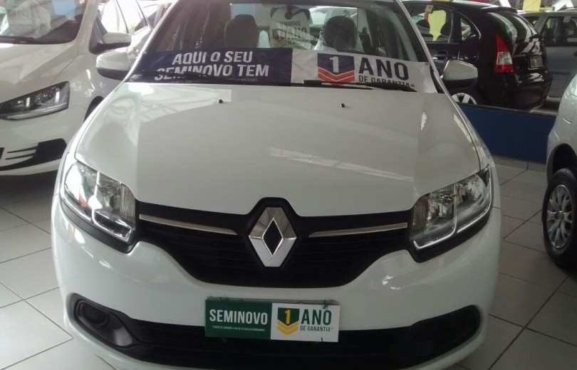 RENAULT LOGAN 2015 1.0 EXPRESSION UP 16V HI-FLEX 4P MANUAL - Carango 71643 - Foto 2