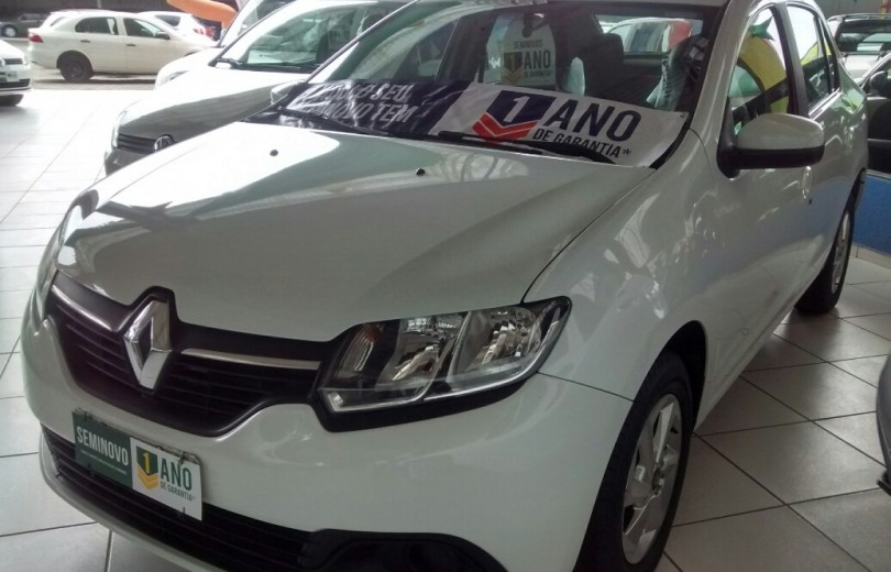 RENAULT LOGAN 2015 1.0 EXPRESSION UP 16V HI-FLEX 4P MANUAL - Carango 71643 - Foto 1