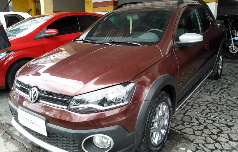 VOLKSWAGEN SAVEIRO 2015 1.6 CROSS CD 16V TOTAL FLEX 2P MANUAL - Carango 71610 - Foto 1