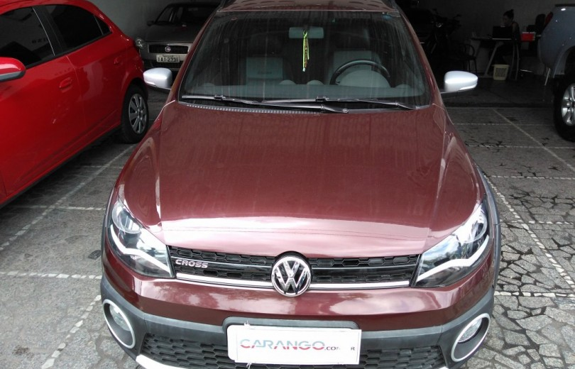 VOLKSWAGEN SAVEIRO 2015 1.6 CROSS CD 16V TOTAL FLEX 2P MANUAL - Carango 71610 - Foto 2