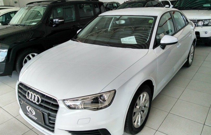 AUDI A3 2015 1.4 TFSI ATTRACTION 16V GASOLINA 4P S-TRONIC - Carango 72576 - Foto 1