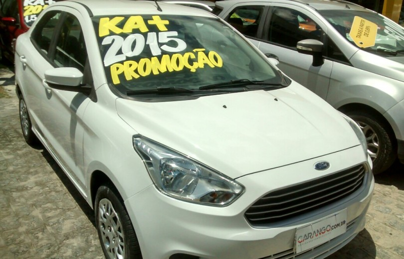 FORD KA MAIS 2015 1.5 SE 16V FLEX 4P MANUAL - Carango 72517 - Foto 2