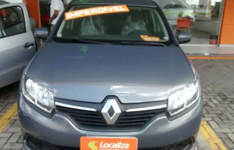 RENAULT LOGAN 2018 1.6 EXPRESSION 8V HI-FLEX 4P MANUAL - Carango 72460 - Foto 2