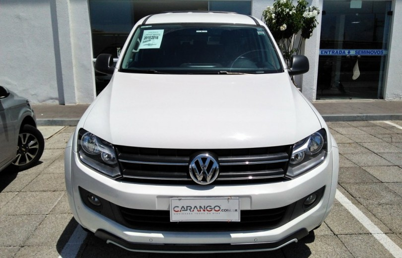 VOLKSWAGEN AMAROK 2016 2.0 DARK LABEL 4X4 CD 16V TURBO INTERCOOLER DIESEL 4P AUTOMÁTICO - Carango 72288 - Foto 2