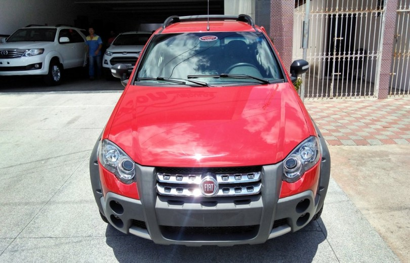 FIAT STRADA 2010 1.8 MPI ADVENTURE CD 8V FLEX 2P MANUAL - Carango 73642 - Foto 2