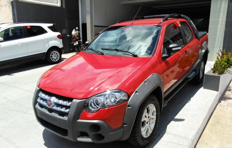 FIAT STRADA 2010 1.8 MPI ADVENTURE CD 8V FLEX 2P MANUAL - Carango 73642 - Foto 1