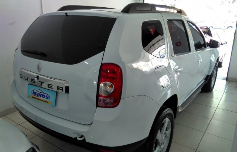 RENAULT DUSTER 2015 1.6 DYNAMIQUE 4X2 16V FLEX 4P MANUAL - Carango 73626 - Foto 3