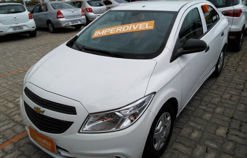 CHEVROLET ONIX 2018 1.0 MPFI JOY 8V FLEX 4P MANUAL - Carango 74567 - Foto 1