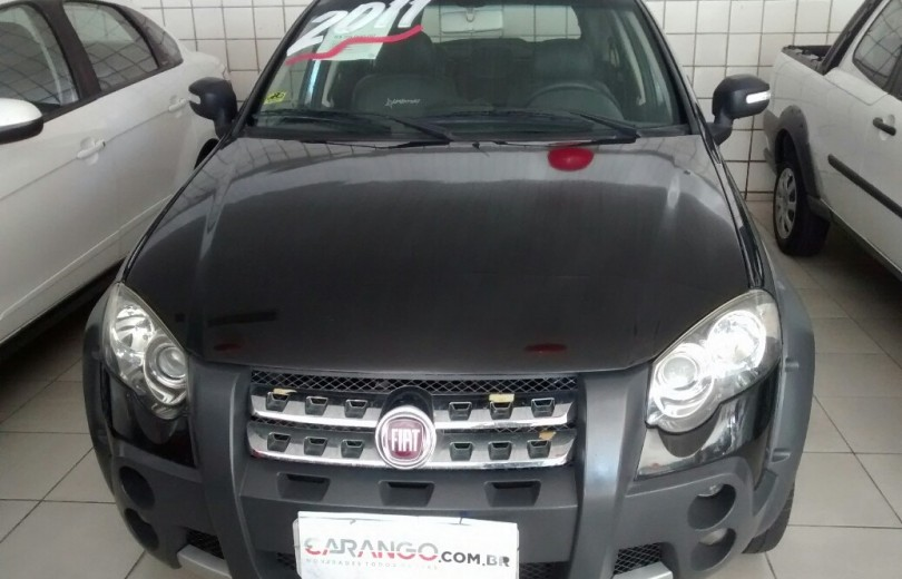 FIAT PALIO 2011 1.8 MPI ADVENTURE LOCKER WEEKEND 16V FLEX 4P DUALOGIC - Carango 74743 - Foto 2