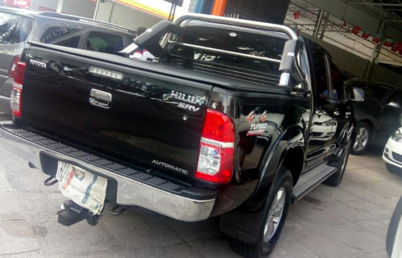 TOYOTA HILUX 2011  3.0 SRV 4X2 CD 16V TURBO INTERCOOLER DIESEL 4P MANUAL - Carango 74411 - Foto 3