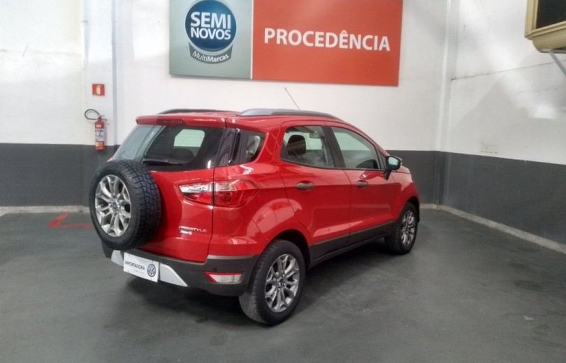 FORD ECOSPORT 2015 1.6 FREESTYLE 16V FLEX 4P MANUAL - Carango 75539 - Foto 3