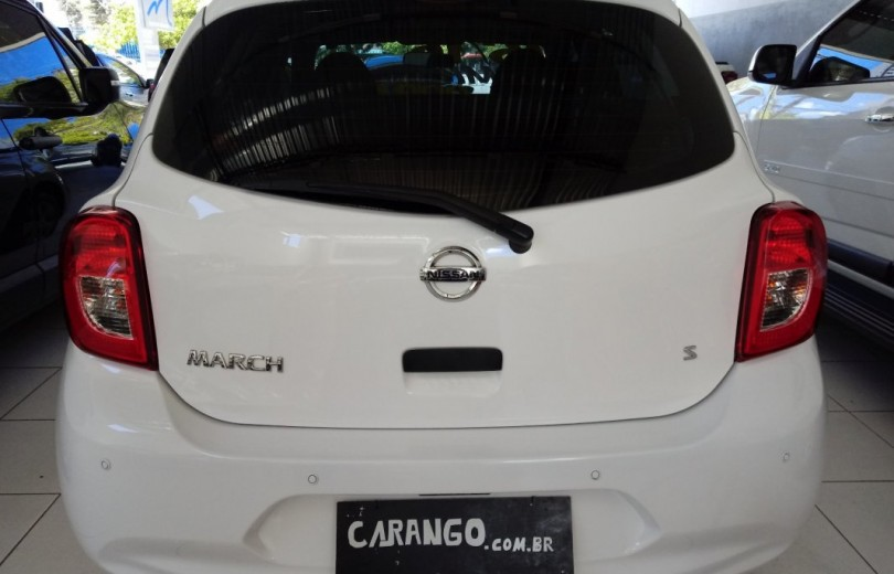 NISSAN MARCH 2016 1.0 S 16V FLEX 4P MANUAL - Carango 75667 - Foto 4