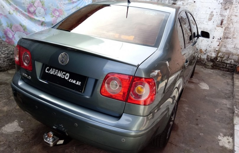 VOLKSWAGEN POLO 2009 1.6 MI 8V TOTAL FLEX 4P MANUAL - Carango 75602 - Foto 3