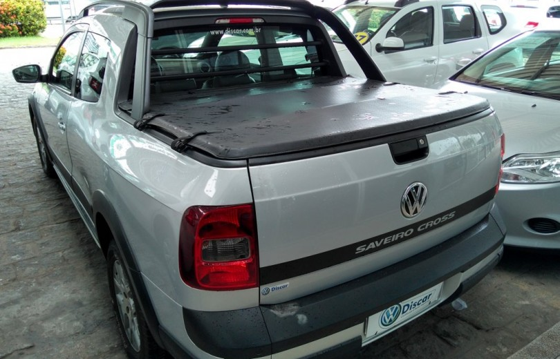 VOLKSWAGEN SAVEIRO 2015 1.6 CD 8V GASOLINA 2P MANUAL - Carango 75678 - Foto 4