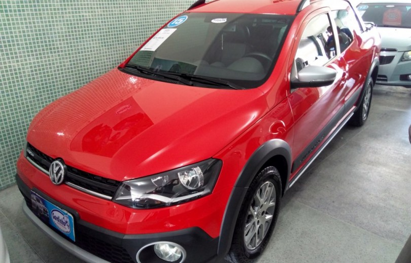 VOLKSWAGEN SAVEIRO 2015 1.6 CROSS CD 16V TOTAL FLEX 2P MANUAL - Carango 75782 - Foto 1