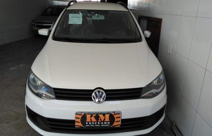 VOLKSWAGEN SAVEIRO 2016 1.6 TRENDLINE CD TOTAL FLEX 8V  MANUAL - Carango 75482 - Foto 2