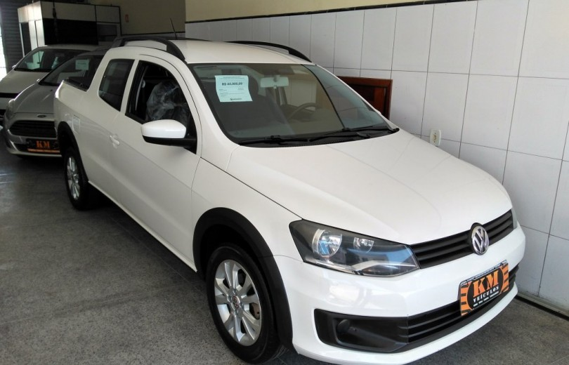 VOLKSWAGEN SAVEIRO 2016 1.6 TRENDLINE CD TOTAL FLEX 8V  MANUAL - Carango 75482 - Foto 3