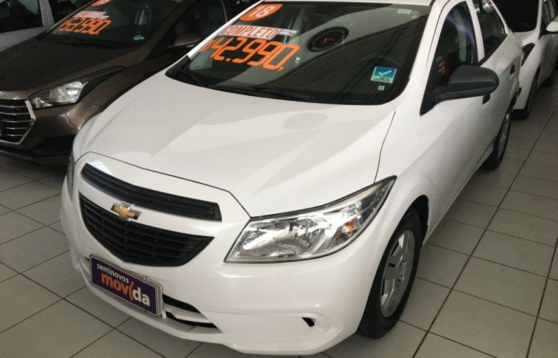 CHEVROLET PRISMA 2018 1.0 MPFI VHCE JOY 8V FLEXPOWER 4P MANUAL - Carango 76325 - Foto 1