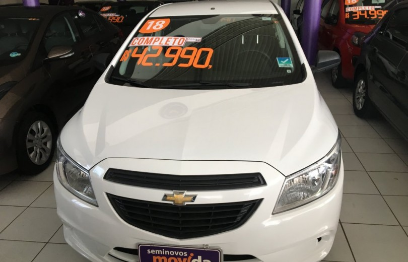 CHEVROLET PRISMA 2018 1.0 MPFI VHCE JOY 8V FLEXPOWER 4P MANUAL - Carango 76325 - Foto 2