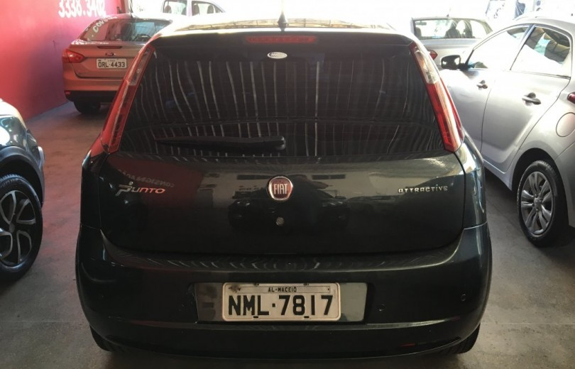 FIAT PUNTO 2012 1.4 ATTRACTIVE 8V FLEX 4P MANUAL - Carango 76609 - Foto 4