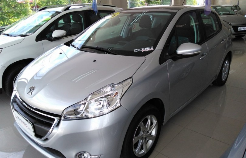 PEUGEOT 208 2015 1.5 ALLURE 8V FLEX 4P MANUAL - Carango 76692 - Foto 1