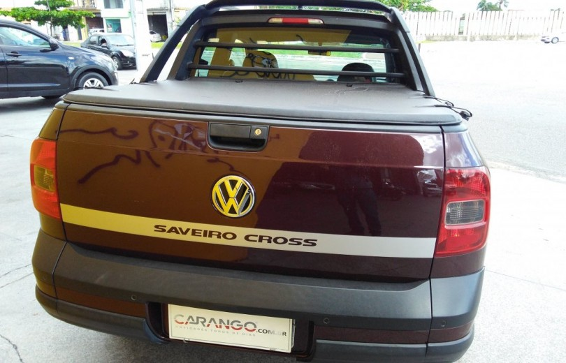 VOLKSWAGEN SAVEIRO 2015 1.6 CROSS CD 16V FLEX 2P MANUAL - Carango 76556 - Foto 4