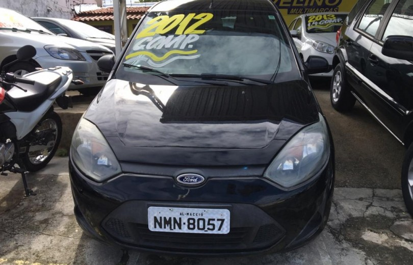 FORD FIESTA 2012 1.0 MPI 8V FLEX 4P MANUAL - Carango 77716 - Foto 2