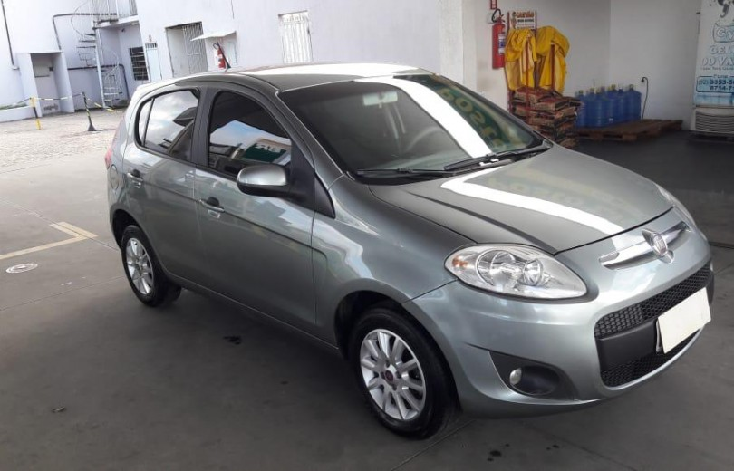 FIAT PALIO 2014 1.0 MPI ATTRACTIVE 8V FLEX 4P MANUAL - Carango 78455 - Foto 7