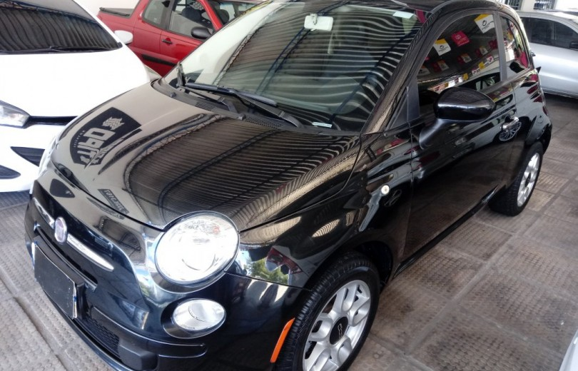 FIAT 500 2012 1.4 CULT 8V FLEX 2P MANUAL - Carango 79547 - Foto 1