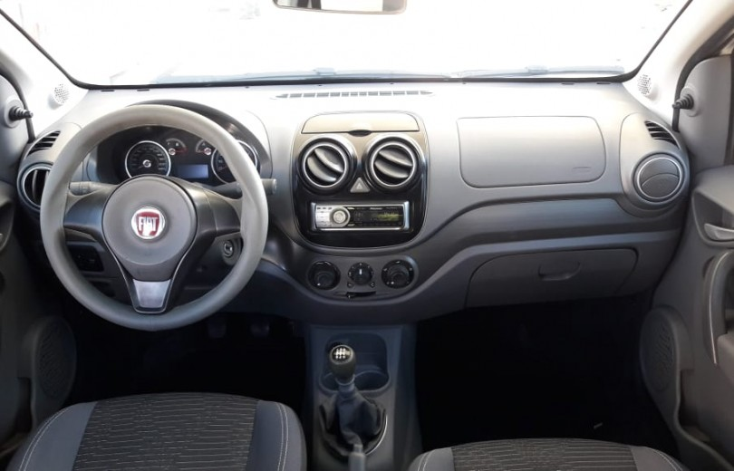 FIAT PALIO 2014 1.0 MPI ATTRACTIVE 8V FLEX 4P MANUAL - Carango 79407 - Foto 7