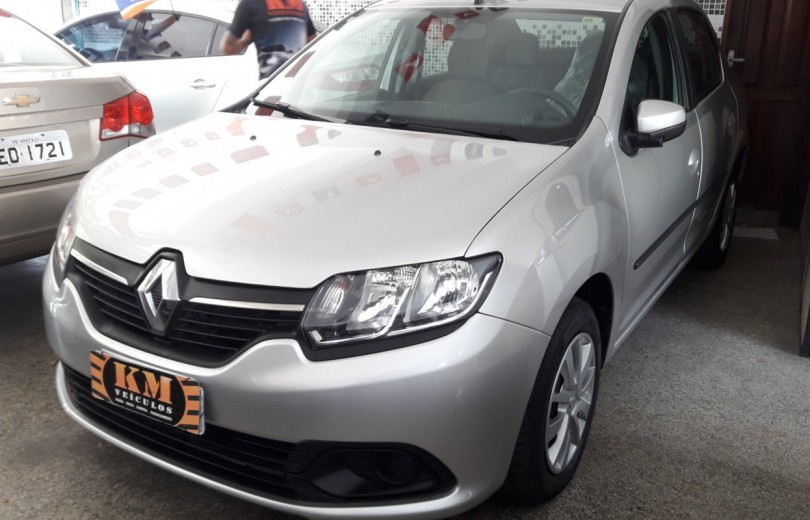 RENAULT LOGAN 2015 1.6 EXPRESSION 8V HI-FLEX 4P MANUAL - Carango 79643 - Foto 1