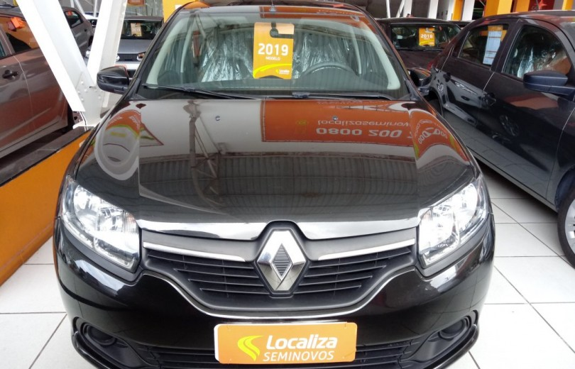 RENAULT LOGAN 2019 1.0 EXPRESSION 8V HI-FLEX 4P MANUAL - Carango 79311 - Foto 2